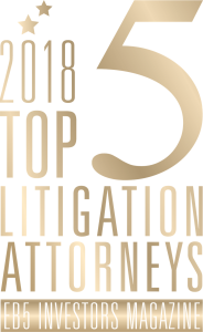 EB5 TOP 25 2018_Litigation Attorneys